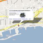 Plan d'accés Mappy