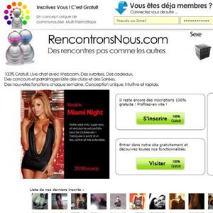 Site de rencontre contact